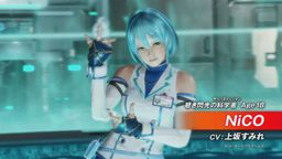 《死或生6》发表新角色青色闪光的科学家NiCO 上坂堇配音