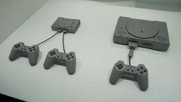 PS Classic迷你主机实拍 与初代PlayStation对比一览