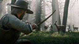 《荒野大镖客2》介绍狩猎和捕鱼 展示众多野生动物和马匹