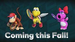 《马里奥网球ACE》将加入5名新角色 参加锦标赛可提前解锁