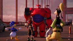 《王国之心3》全新视频发表 《超能陆战队》实机画面公开
