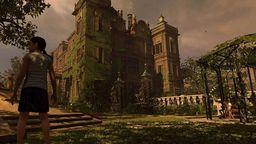 《古墓丽影:暗影》泄露图 展示幼年劳拉攀爬建筑等场面