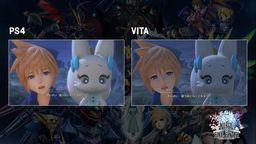 《最终幻想世界》PS4与PSV版本对比画面视频公布