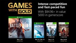 Xbox金会员2018年11月免费游戏:战地1、刺客信条等