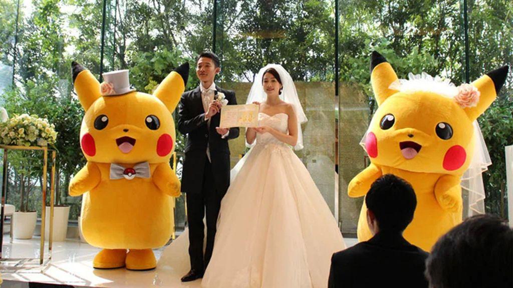 日本公司推出寶可夢主題婚禮 任天堂官網公布大量現場照片