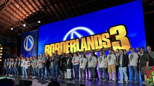《無主之地3》全球媒體試玩會現場視頻 會場環境一覽