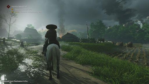 《對馬島之魂》公開一組4K高清畫面 采用PS4 Pro直接截取