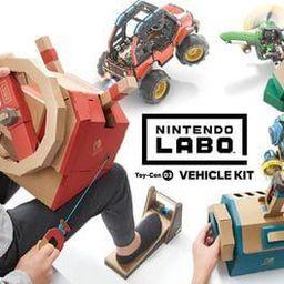 任天堂Labo:Toy-03 驾驶套装