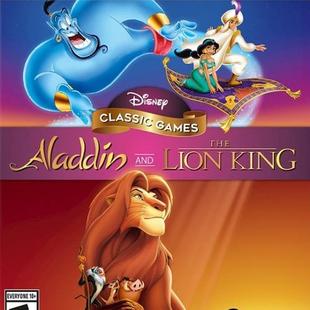 迪士尼经典游戏:阿拉丁与狮子王