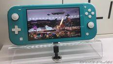 Switch Lite主機科隆游戲展實際展示及屏攝試玩演示影像