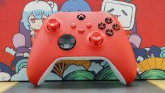 """""""錦鯉紅"""" Xbox無線控制器開箱照 紅紅火火過大年"""