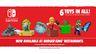 汉堡王推出在北美推出任天堂套餐 送林克、马力欧、动森玩具