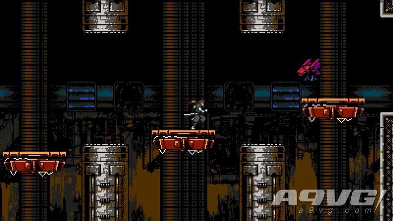 《铲子骑士》开发商新作《赛博之影》公布 8bit横版忍者游戏
