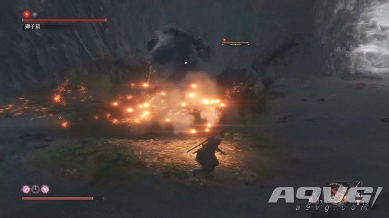 《只狼 影逝二度》无头狮子猿BOSS战忍杀打法视频攻略