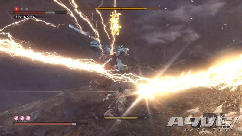 《只狼 影逝二度》最终BOSS剑圣苇名一心视频攻略打法
