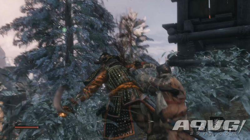 《只狼 影逝二度》武士大将 河原田直盛忍杀视频攻略