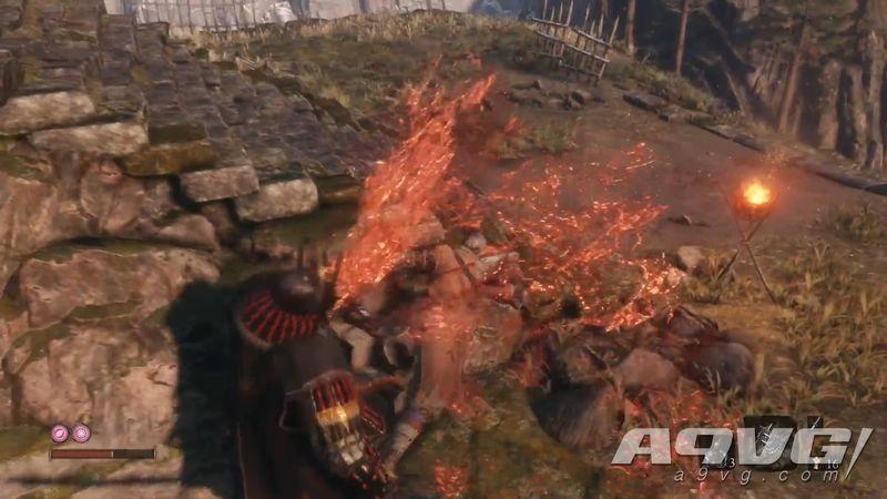 《只狼 影逝二度》武士大将 山内典膳忍杀视频攻略