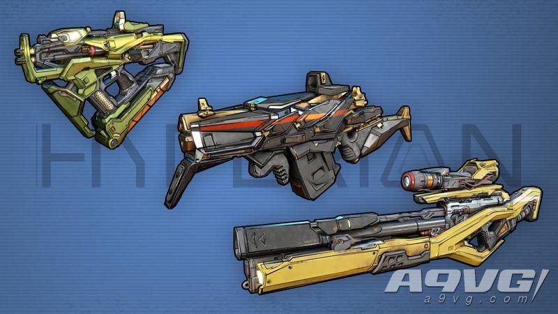《无主之地3》中文官网上线 包含角色、武器、故事背景等介绍