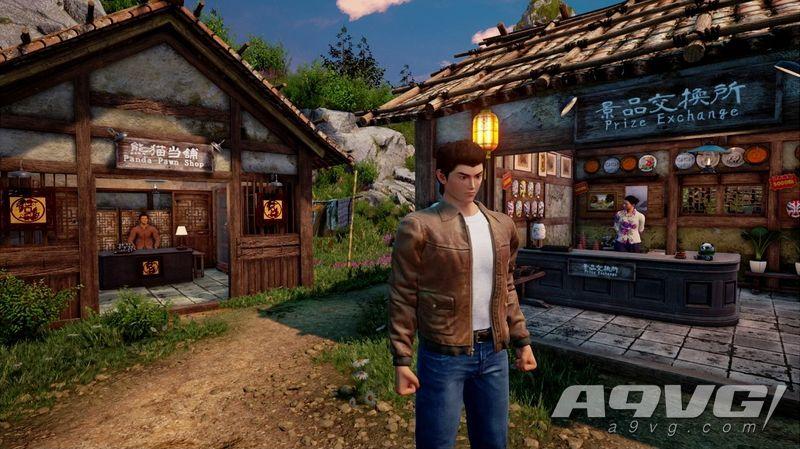 《莎木3》将制作回顾影片总结前代故事 并公开新截图