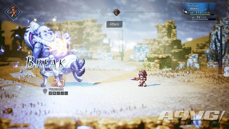 《八方旅人》将于6月7日登陆Steam平台 支持简繁体中文