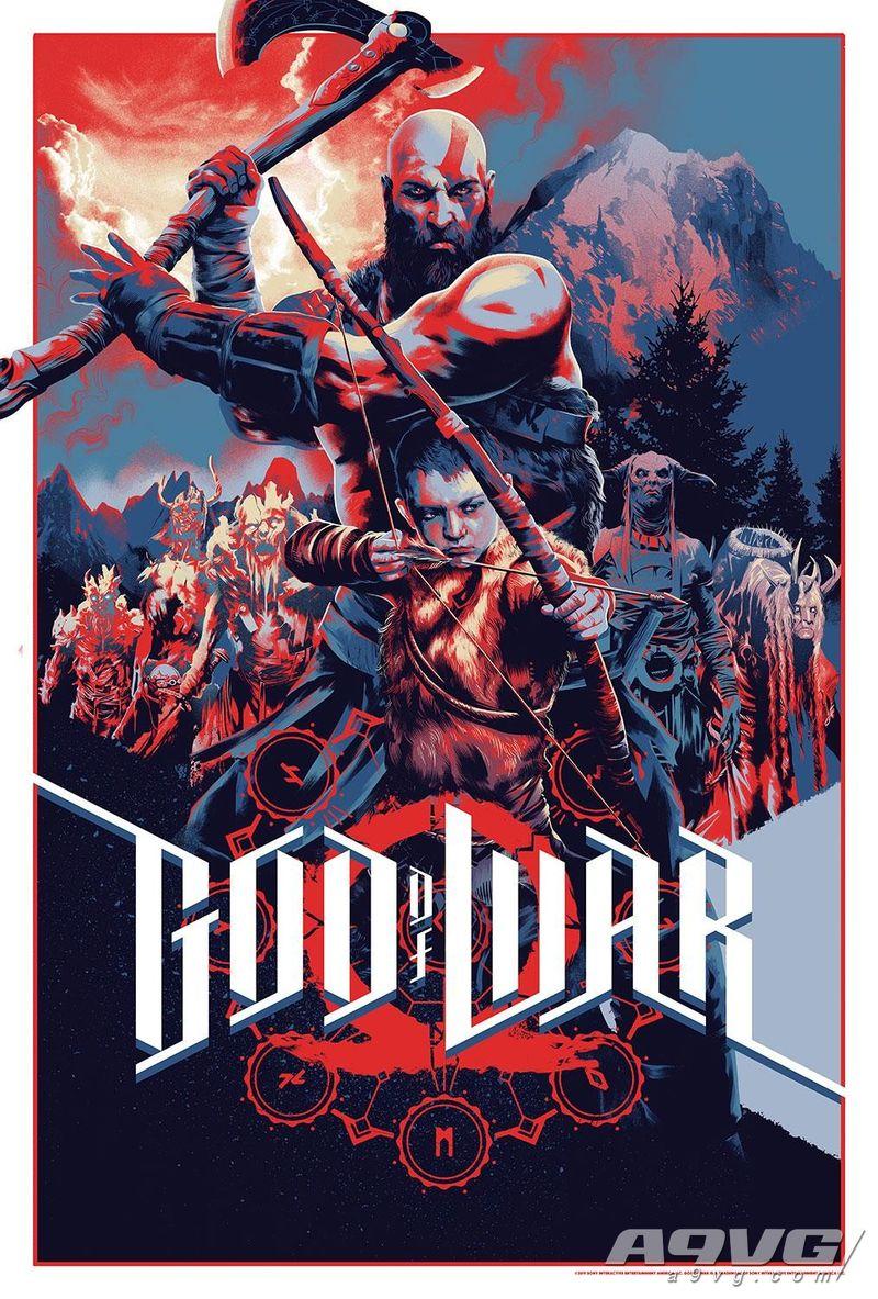 《战神》推出周年庆纪念周边 限定版海报及奎托斯手办等