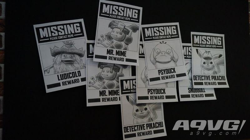 《大侦探皮卡丘》主题娱乐展现场海量图 宝可梦粉丝不容错过
