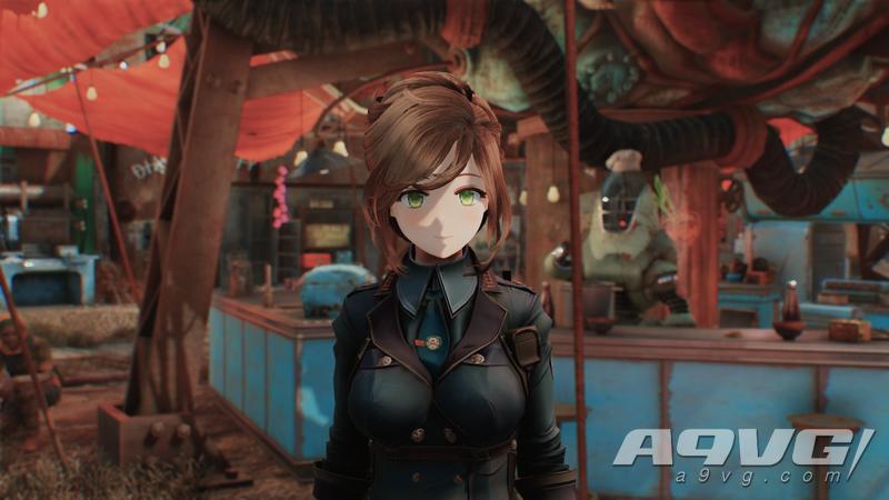 《辐射4》二次元动画脸Mod爆诞 将让废土变得更加美好