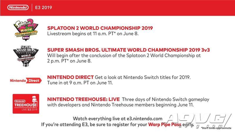 任天堂E3 2019直面会时间确定 北京时间6月12日凌晨0点
