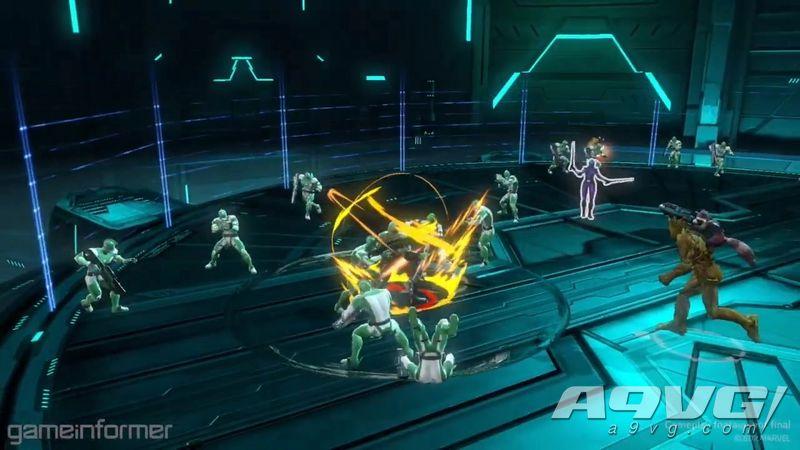《漫威英雄终极联盟3 黑色教团》实机试玩影像 真漫威无双