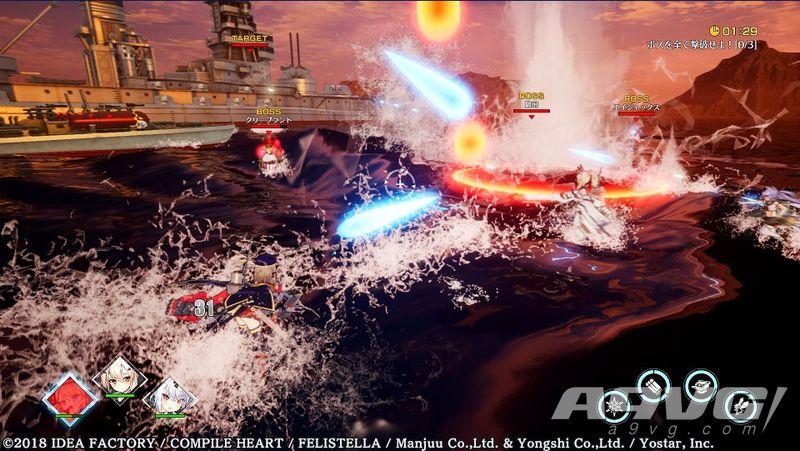 《碧蓝航线Crosswave》新公布三名支援角色并放出新画面