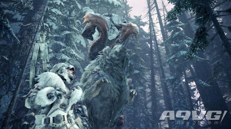 《怪物猎人世界 Iceborne》杂志新情报 进一步介绍新要素