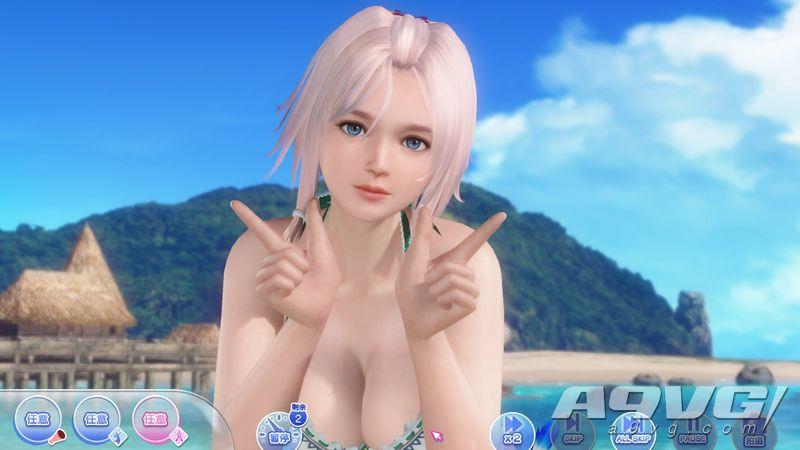 Steam版《死或生沙滩排球 维纳斯假期》原创角色露娜登场