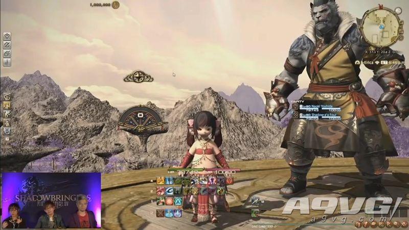 《最终幻想14漆黑的反逆者》舞者试玩影像 最新跑分工具上线