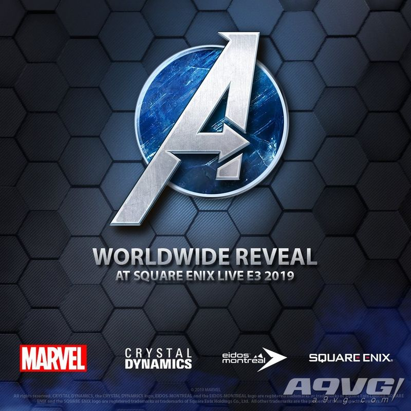 SE确认将在E3 2019发布会上公开《复仇者联盟》的新情报