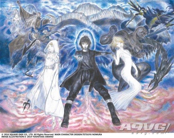 《最終幻想15》新作計劃公布 天野喜孝全新創作海報亮相