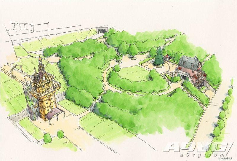 吉卜力公园预计2020年开业 还原哈尔的移动城堡等要素