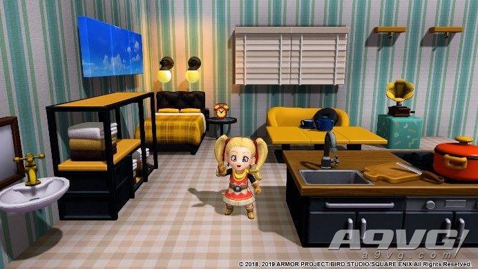 Switch版《勇者斗惡龍建造者2》將于8月9日推出繁體中文版