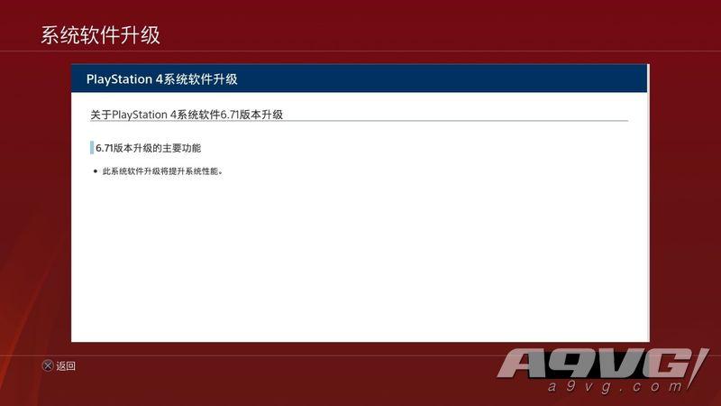 PS4主机推出6.71版系统升级 或为解决数字游戏被锁的问题