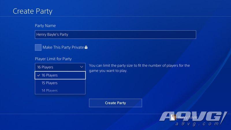 SIE將改進PS4的派對功能 增加人數改善網絡及語音質量