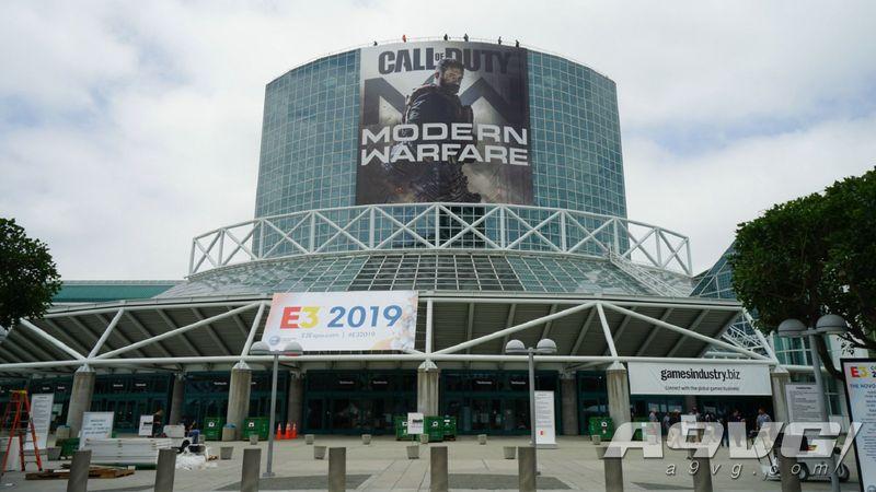 E3 2019会场抢先看:赛博朋克、COD、FF7R等广告现身
