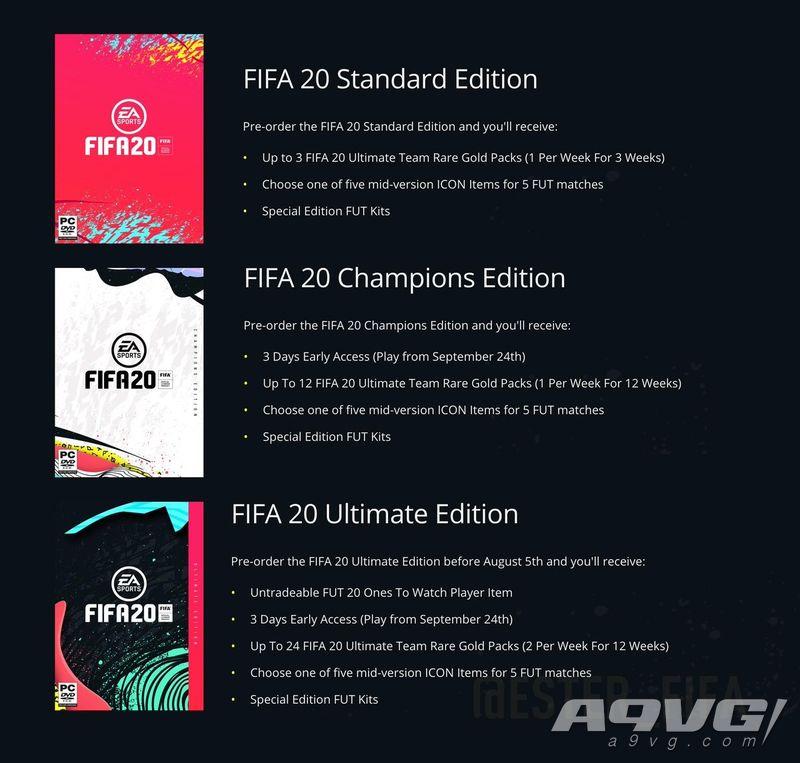 《FIFA20》公开完整宣传片 加入街头足球玩法自定义要素丰富
