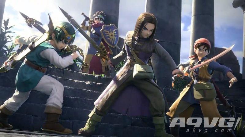 《DQ11》勇者与班卓熊参战《任天堂明星大乱斗 特别版》