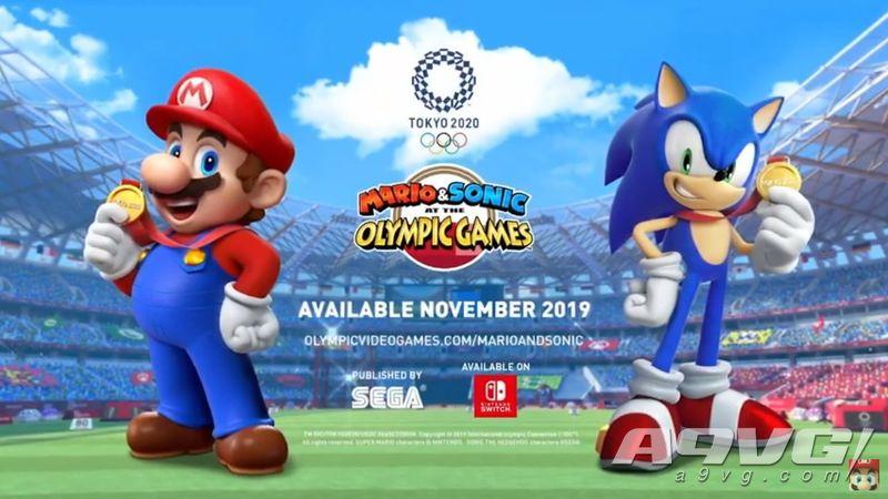 《索尼克与马里奥在东京奥运会》将于今年11月推出