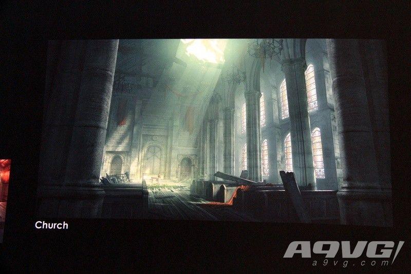 E3 2019《最终幻想7 重制版》小型设定资料展现场图集
