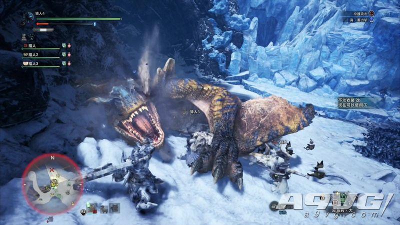 《怪物猎人世界 Iceborne》中文版试玩视频 连挑轰龙猛牛龙