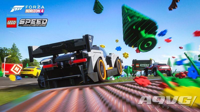 《极限竞速 地平线4》乐高DLC试玩报告 年度DLC的有力竞争者