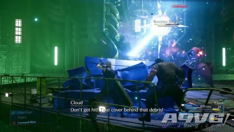 《最终幻想7 重制版》试玩报告 动作与战术相结合的战斗系统