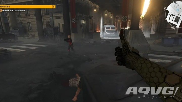 《德军总部新血脉》E3试玩视频 展示新武器及新动作等