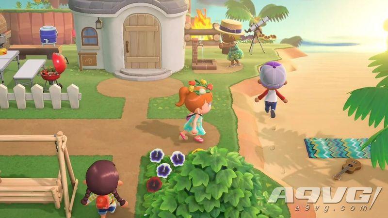《集合啦!动物森友会》不支持云存档 掌机可以触屏游玩