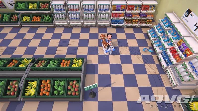 《超市尖叫购物车》E3试玩报告 让耳边充满尖叫的逗逼游戏